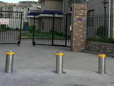 锦苑社区  半自动升降柱