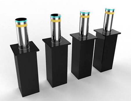 不锈钢表面抛光处理液压升降柱